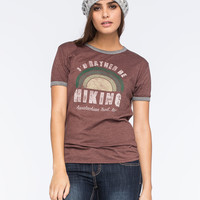 CORNER SHOP I'd Rather Be Hiking Womens Tee   Graphic Tees