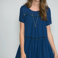 Craving Navy Tunic Dress
