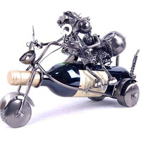 Home Office Decoration metal iron wine rack motorcycle lovers 2683_X