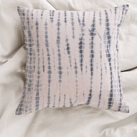 Magical Thinking Shibori Streak Pillow | Urban Outfitters