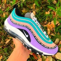 Nike Air Max 97 Space Purple Sneakers