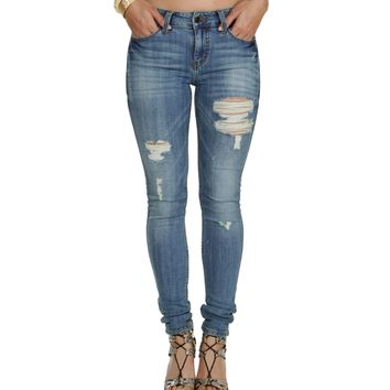 Mid Rise Unstoppable Skinny Jeans