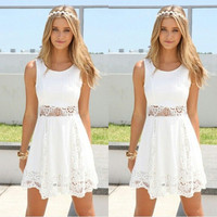 New Fashion Summer Sexy Women Mini Dress Casual Dress for Party and Date = 4661728964