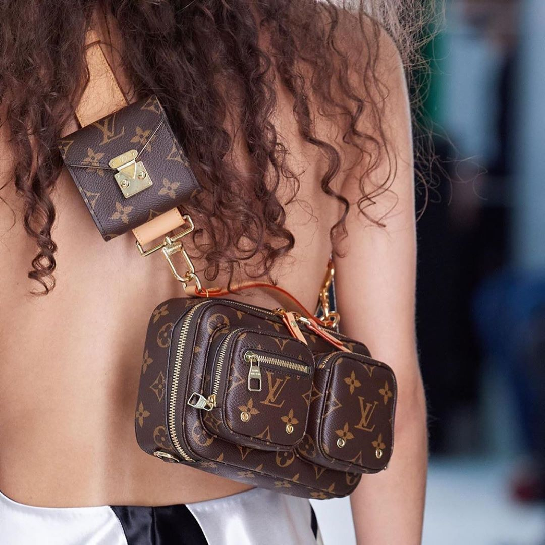 Image of Louis Vuitton LV 20 years new wave hand bag