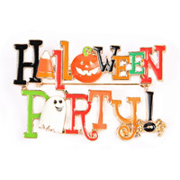 Halloween Party Pin