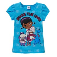 Disney's Doc McStuffins ''Share the Care'' Tee - Girls