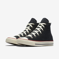 The Converse Chuck Taylor All Star Ombre Wash High Top Unisex Shoe.
