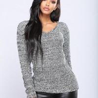 Orly Knit Sweater - Black