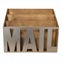 Mail 3-Slot Caddy (Natural)