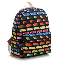Canvas Korean Cute Lovely Backpack = 4888027396