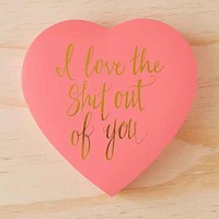 I Love You Heart Candy Box- Pink One
