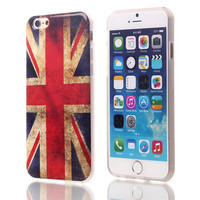 UK Flag TPU Case For Apple iPhone 6 6S