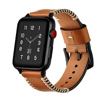 Sewing Process Leather Apple Watch Band