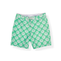 Strong Boalt Boardshort Lime Urchin