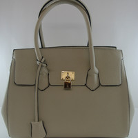 Dare to Bare Ivory Medium Handbag