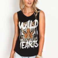 Tiger Wild Hearts Tee - LoveCulture