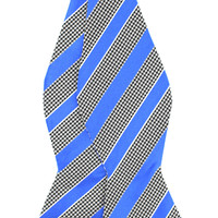 Tok Tok Designs Men's Self-Tie Bow Tie (B339, 100% Silk)