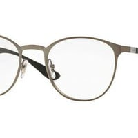 Ray-Ban RX6355 2620 47mm Matte Gunmetal Eyeglasses