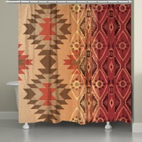 Southwest Tapestry Shower Curtain
