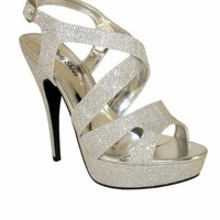 Crisscross Straps Shoes by Your Party Shoes