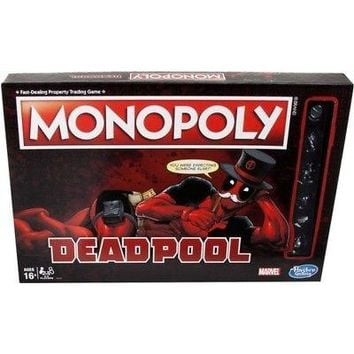 Deadpool Monopoly, Action Movies by Hasbro
