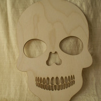 Skull, Calavera, Sugar Skulls,Day of the Dead, Dia de los Muertos, Laser Cutouts,Unfinished Wood,Woodcrafting Pieces,Skulls for Crafting