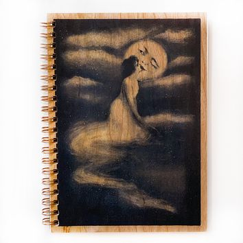 Kiss the Moon Notebook