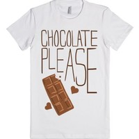 White T-Shirt | Gifts For Chocolate Lovers