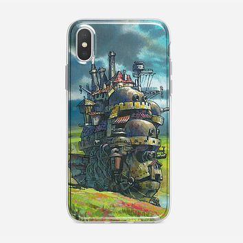 Howls Moving Castle Artwork iPhone XS Max Case