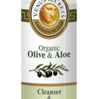 Makeup Remover oil / Face Cleanser / Eye Cleanser with Organic Aloe vera / Natural Cosmetics with Organic Olive & Aloe Vera / 250ml / Organic Aloe Cleanser / Almond oil and Allantoin