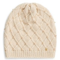 Tory Burch Pearl Cable Hat