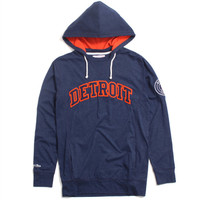 Detroit Tigers Away Team Hooded Longsleeve Navy
