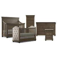 BassettBabyPREMIER® Parker Nursery Furniture Collection in Cobblestone