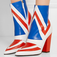 Laurence Dacade - Bowie paneled leather ankle boots