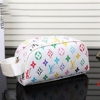 LV Women Fashion makeup bag  Cosmetic bag Zipper Satchel H-YJBD-2H