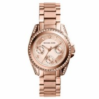 Mini Blair Rose Gold-Tone Watch | Michael Kors