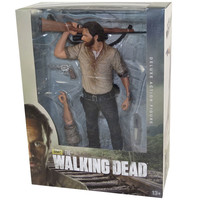 McFarlane Toys - The Walking Dead Deluxe Figure - RICK GRIMES (10-inch): BBToyStore.com - Toys, Plush, Trading Cards, Action Figures & Games online retail store shop sale