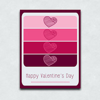Blank Valentine's Day Cards - Sets of 10 and 15
