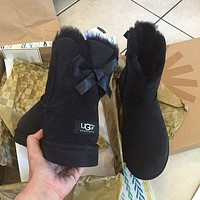 UGG Women Trending Fashion Wool Snow Boots Tagre™