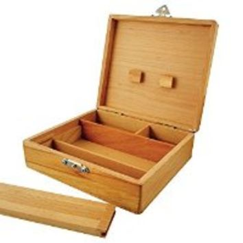 """7""""x5"""" Roller Box with Removable Tray - Tobacco Stash and Roller Tray"""