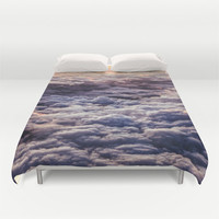 Duvet Cover, Clouds, Sky, Bedding Cover, Decorative Modern Bedroom Decor, Home Decor, King, Queen, Full