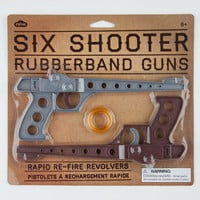 Six Shooter Rubberband Guns Multi One Size For Men 22070995701