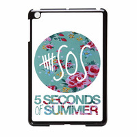 5 Seconds Of Summer Floral Pink iPad Mini Case