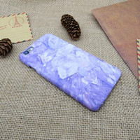 Purple mobile phone case for iphone 5 5s SE 6 6s 6 plus 6s plus + Nice gift box 072601