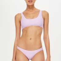 Ribbed High Leg Bikini Set | Topshop