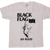 Black Flag - My Rules T-Shirt | SST Superstore