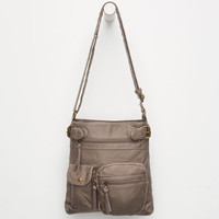 Tiger Fish Nicole Crossbody Bag Taupe One Size For Women 26292941301