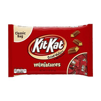 Kit Kat Minis, Crisp Wafers in Milk Chocolate, 11-Ounce Bags (Pack of 4)