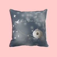 Cute, Whimsy Cinderella Story Pillow