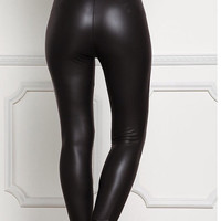 Faux Leather High Waisted Leggings 🔥🔥